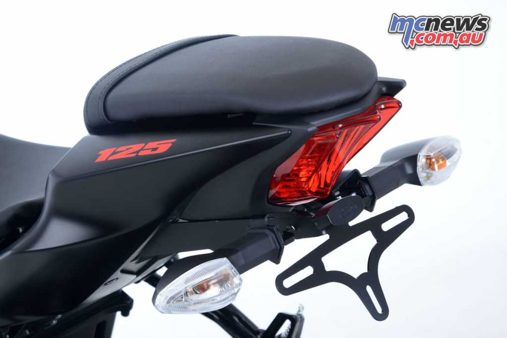 R&G Tail Tidy Suzuki GSX-S125 / GSX-R125 '17-onward, Part Numbers: LP0238BK; RRP $139.95