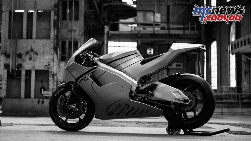 The Suter MMX500 500cc two-stroke V4