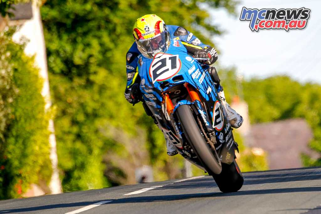 Ian Lougher will represent Suter, racing the 195hp two-stroke V4, weighing in at just 129kg