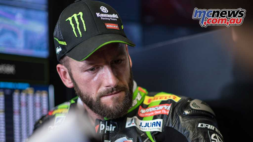Tom Sykes had a tough weekend and eventually retired in Race 2