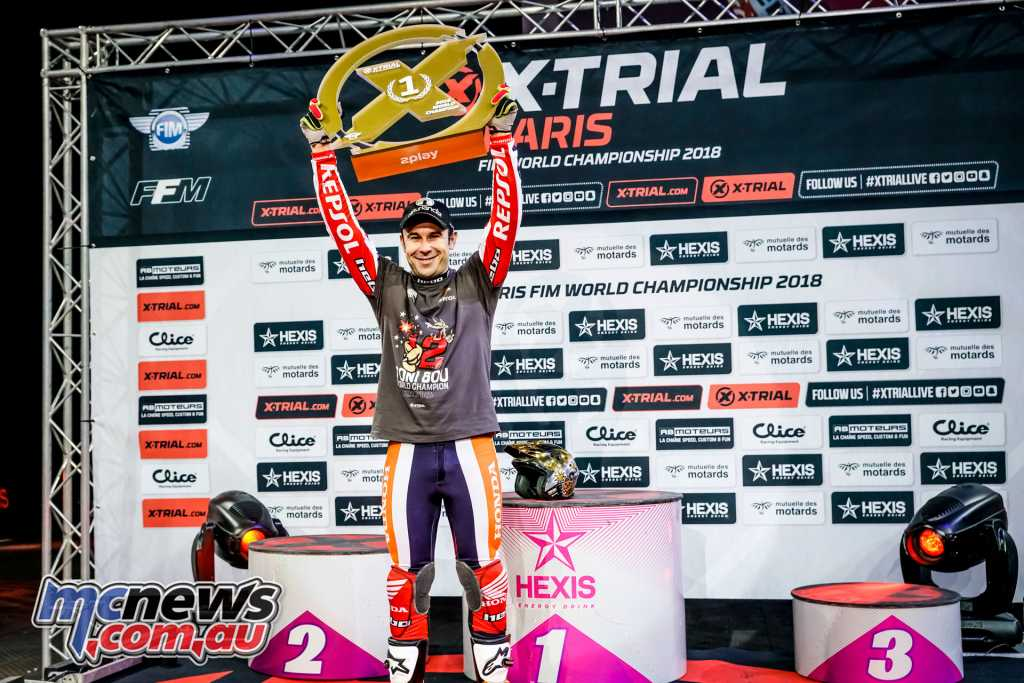 Toni Bou wins X-Trials Championship #12