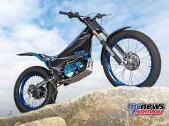 New Yamaha TY-E Trial Bike