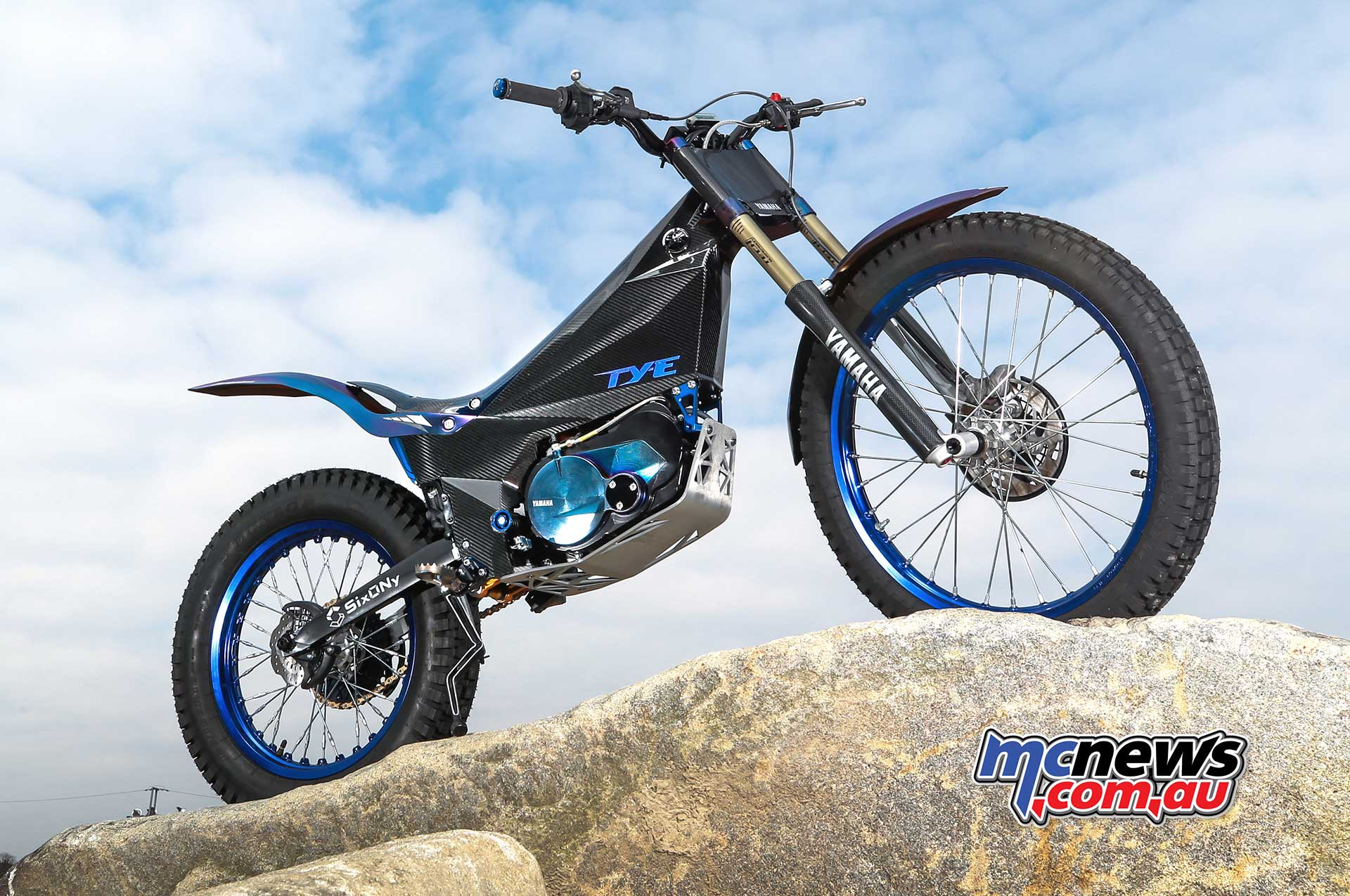 yamaha ty e trial bike enters 2018 fim trial e cup. Black Bedroom Furniture Sets. Home Design Ideas