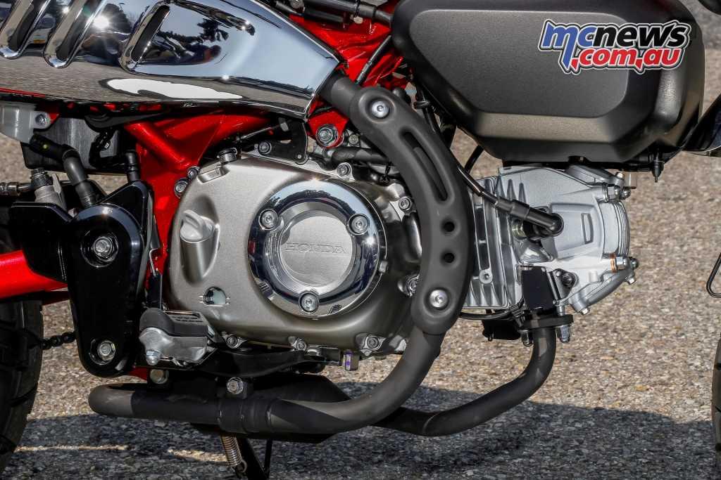 SOHC 125cc single-cylinder engine
