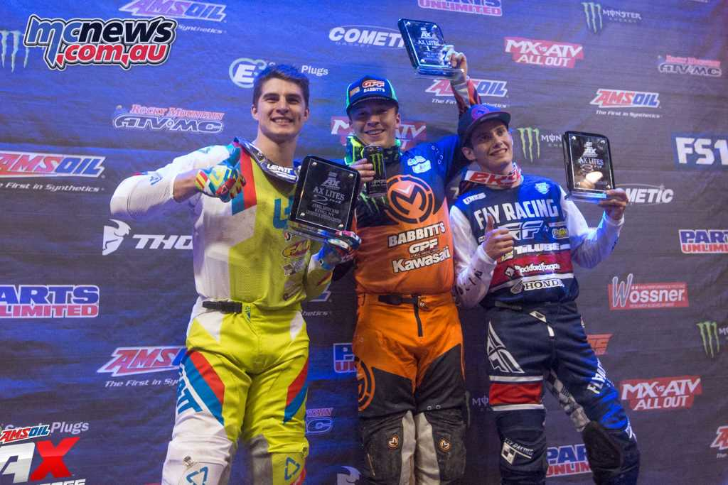 AX Lites West Class Main Event Podium