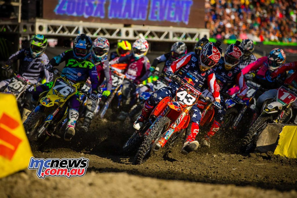 The 250SX Start at Foxborough SX