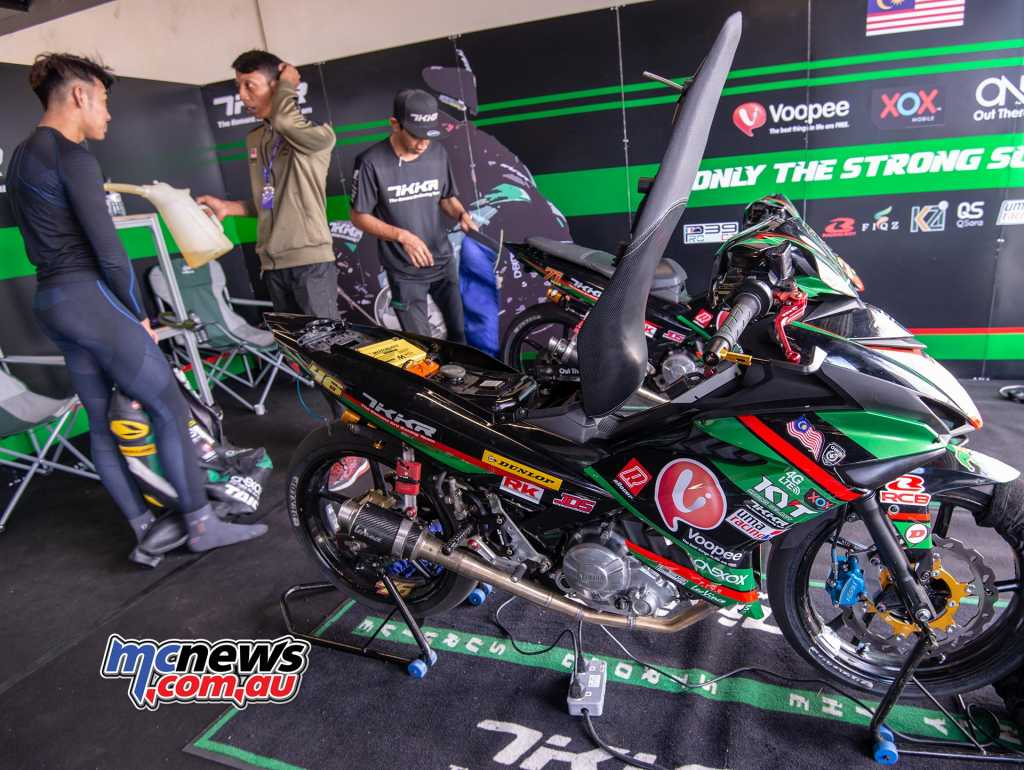 ARRC Underbone might look at first glance as a bit of a joke but I assure you this is deadly serious business and total cut-throat madness of epic proportions.