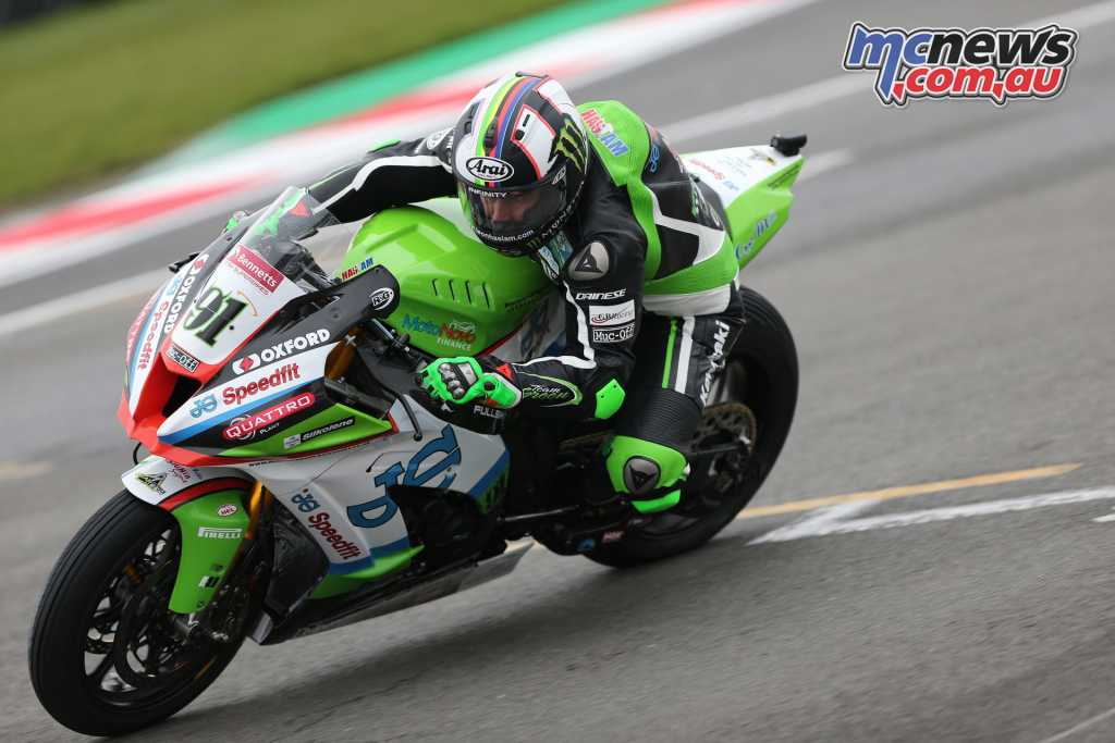 Leon Haslam - Image by David Yeomans