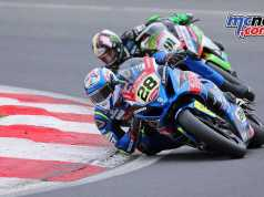 Bradley Ray leads BSB 2018 by ten-points over Shane Byrne