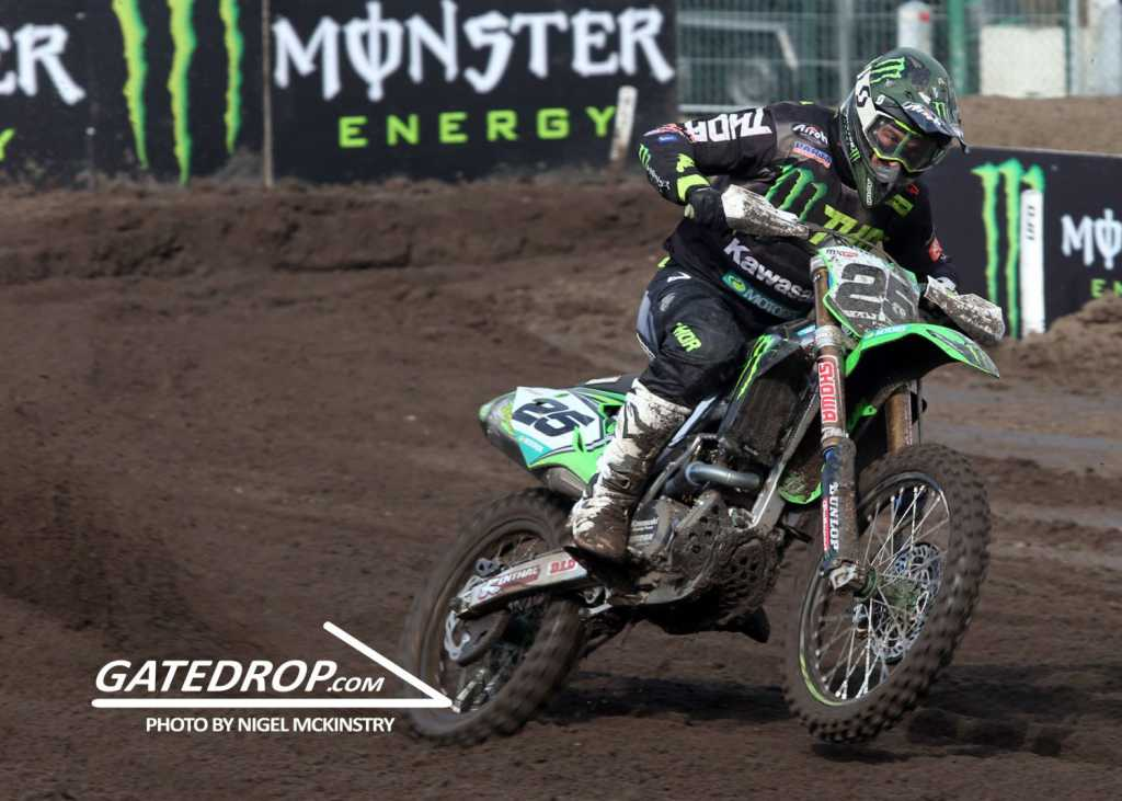 Clement Desalle took the Belgian MX win