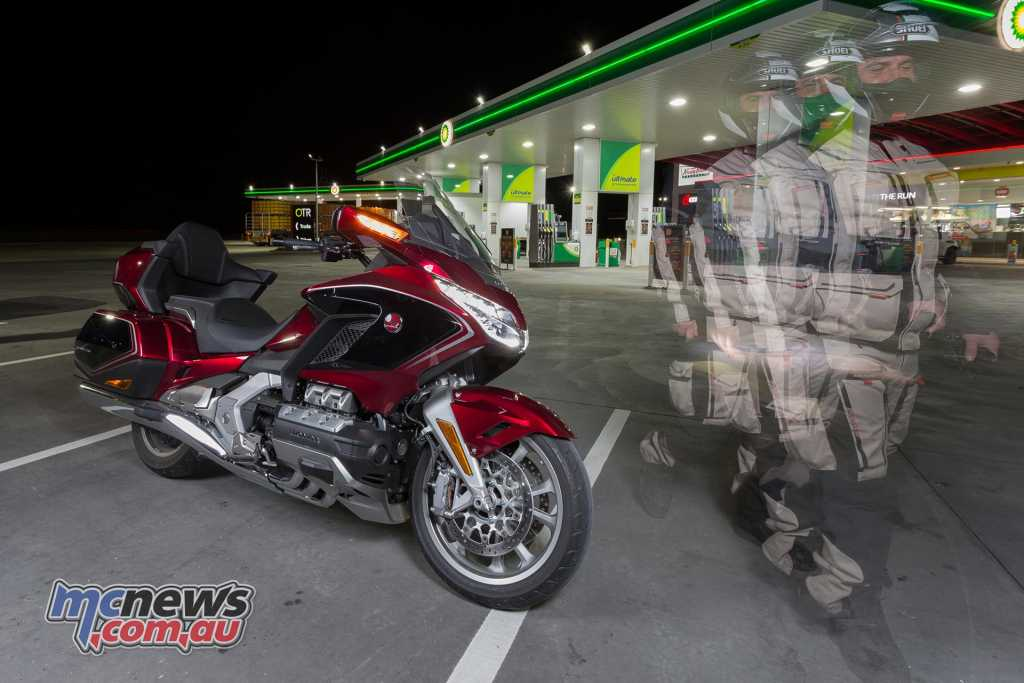 2018 Honda Gold Wing - Image by TBG