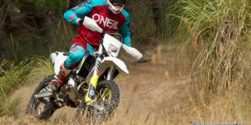 Husqvarna's 2018 TE250i two-stroke EFI enduro machine