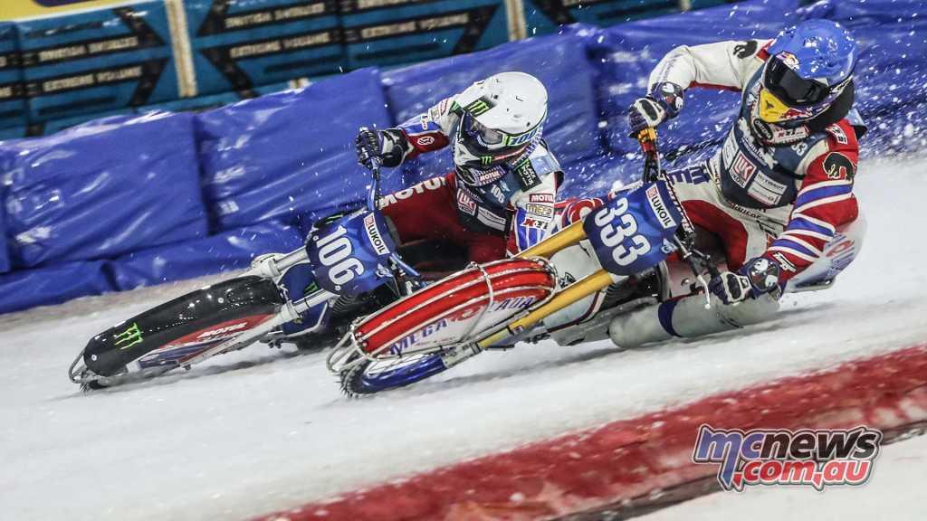 Dmitry Koltakov and Daanil Ivanov go at it
