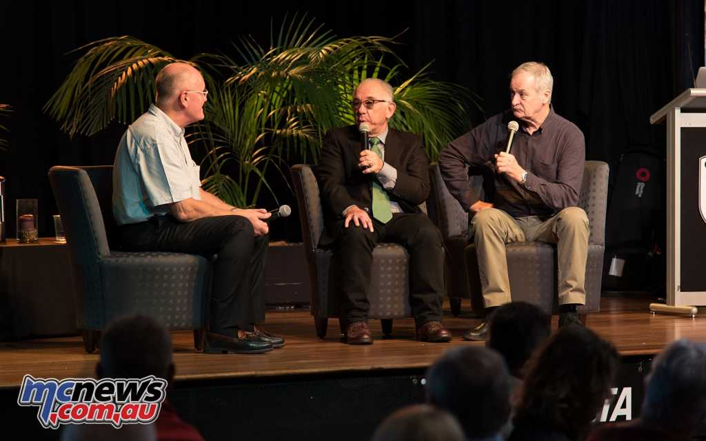 Alan Cathcart interviews Vince and Jim at the Legends Dinner