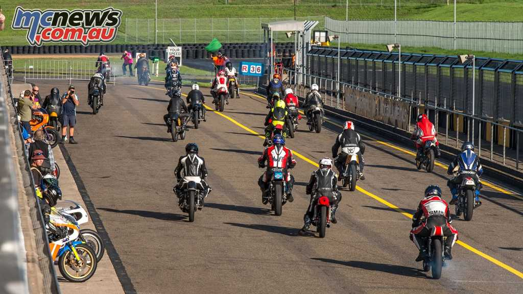This year's InterFOS celebrated the the Superbike World Championship with a huge variety of classic machinery
