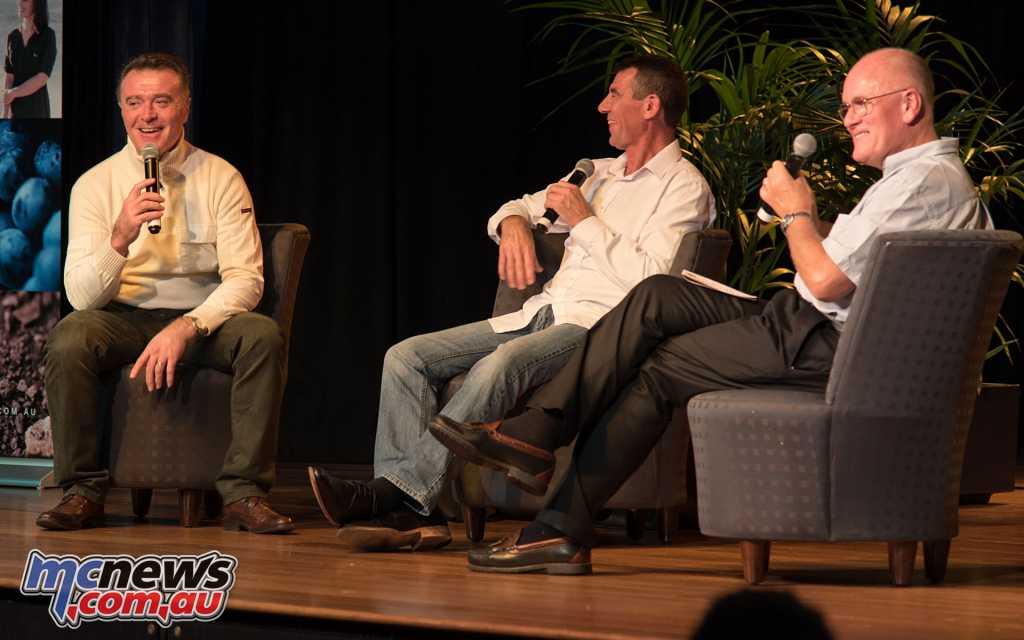 Pierfrancesco Chili, Troy Corser and Alan Cathcart