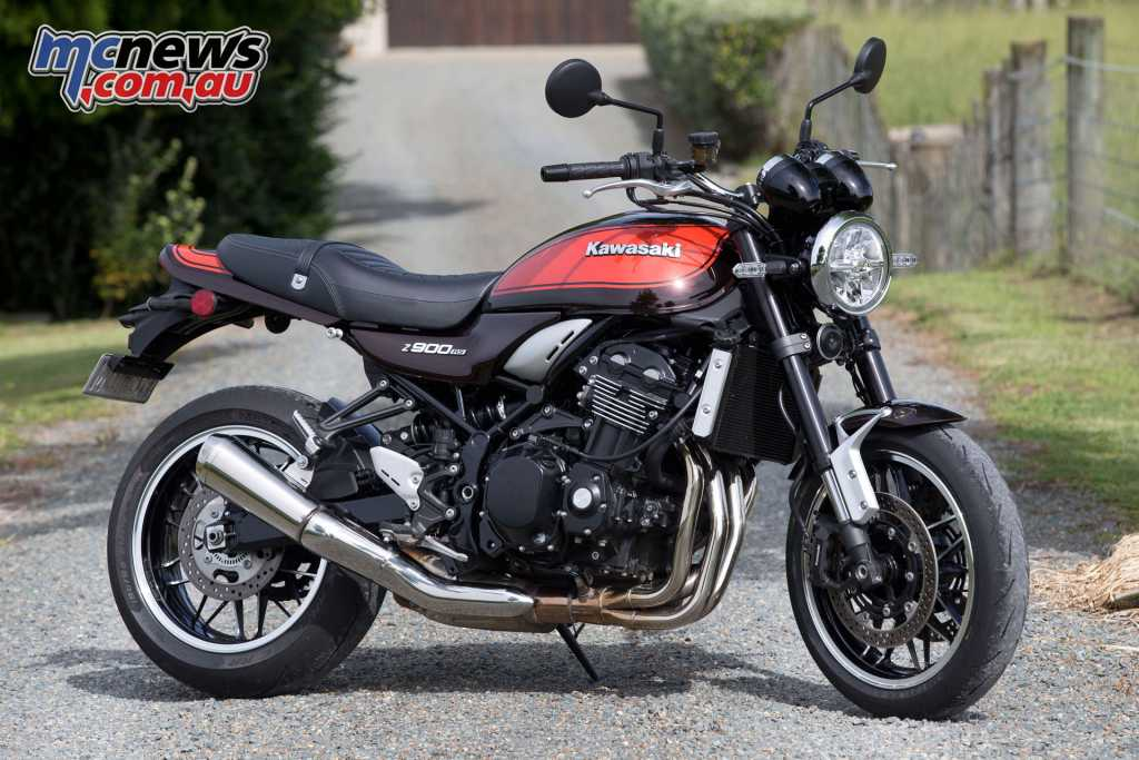Kawasaki's Z900RS recalls the original Z1 900 in a retro styled and much more technological form
