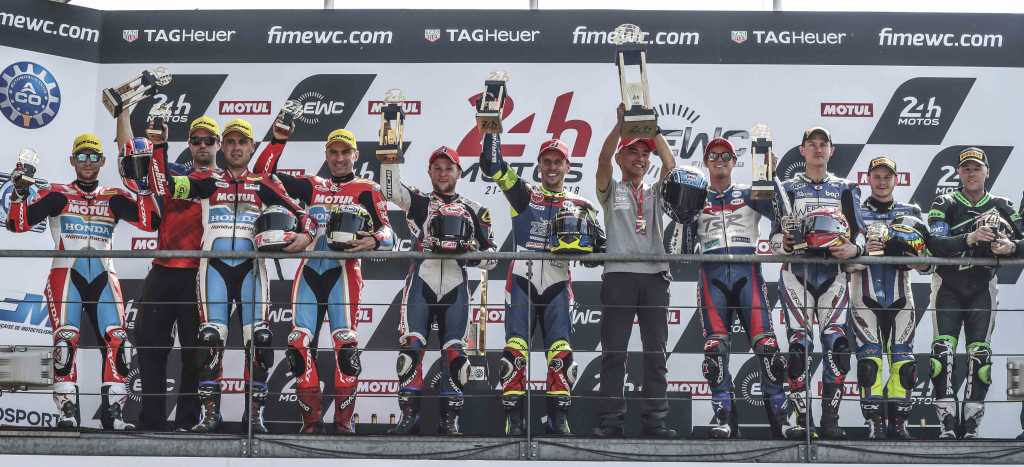 018 24 Heures Motos Results FCC TSR Honda France Honda Endurance Racing Wepol Racing