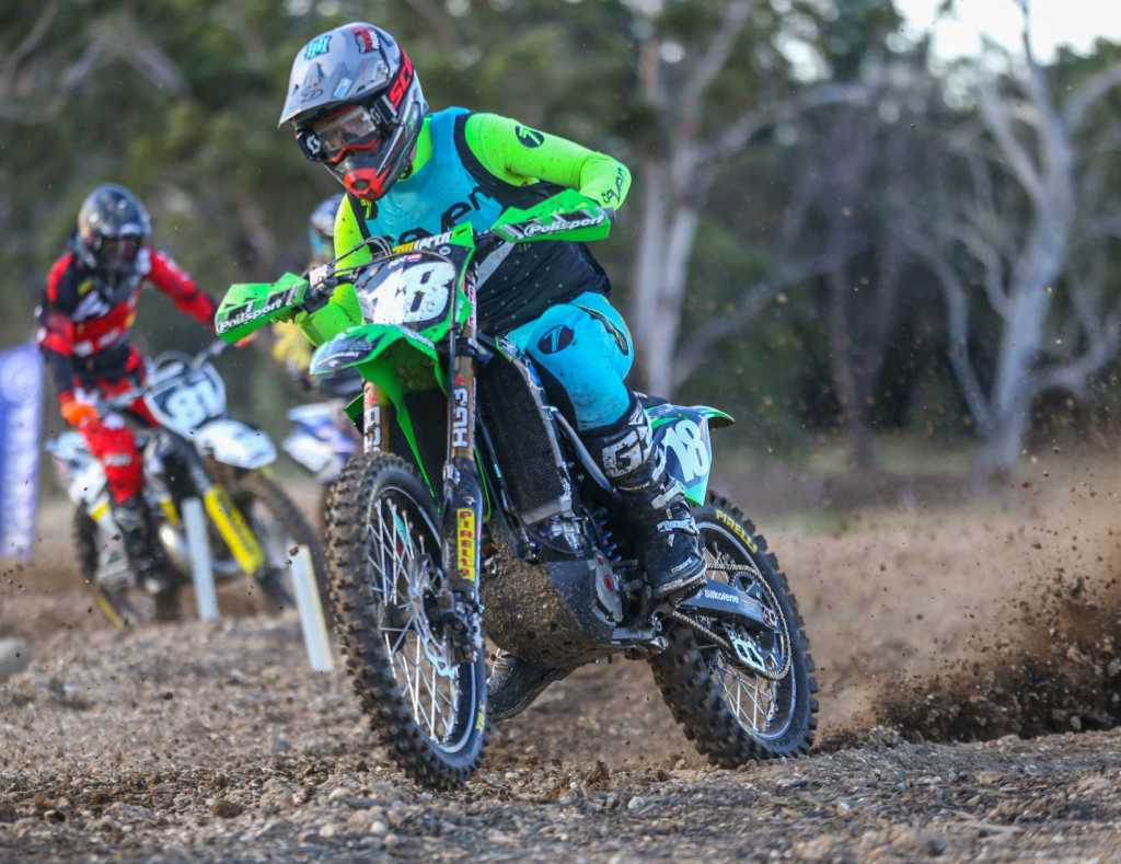Aaron Tanti #18 - Newry MX2