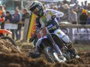 Dean Ferris leads Kirk Gibbs at Newry MX Nationals