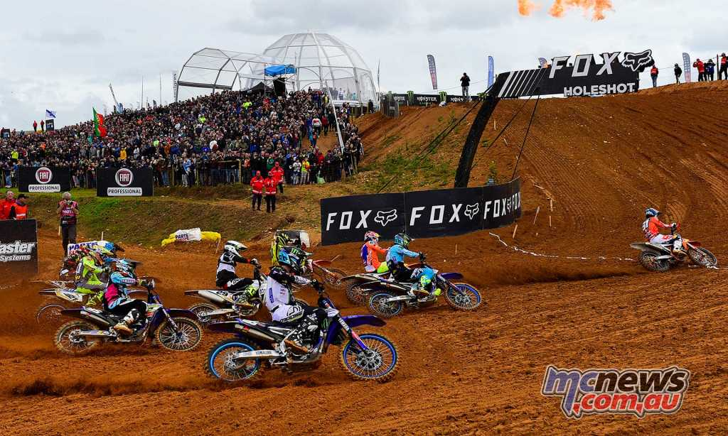 The MX2 start at Portugal