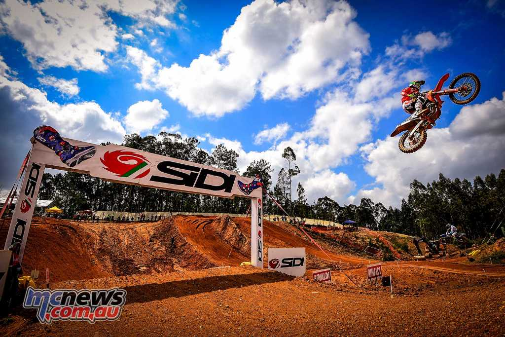Jorge Prado took the MX2 win at Portugal