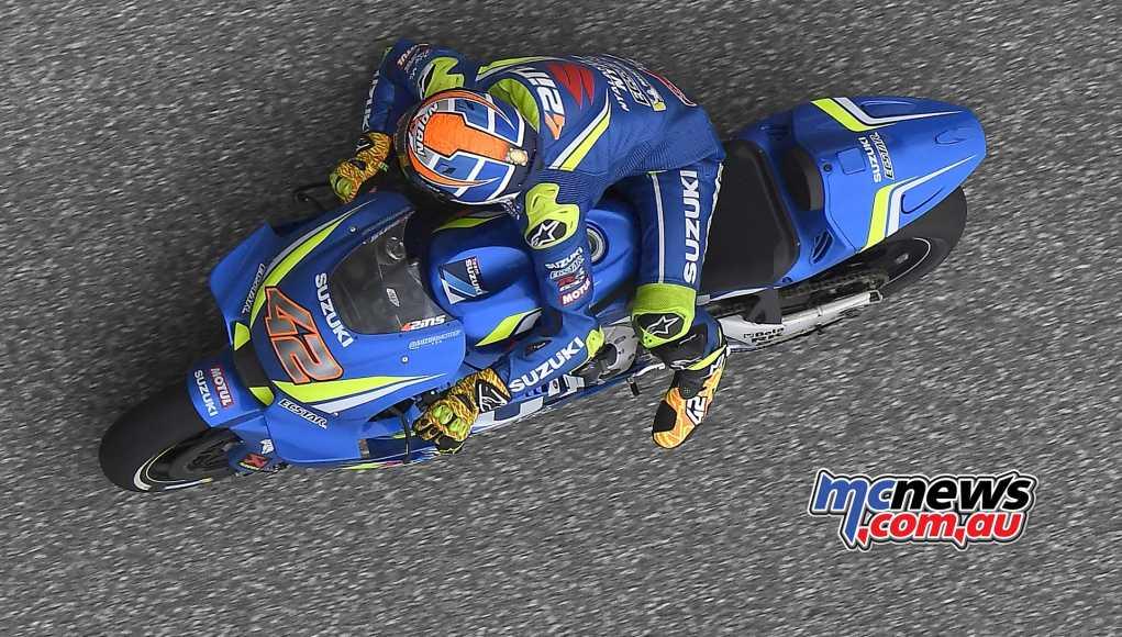 Alex Rins at Ecstar Suzuki MotoGP for two more years   MCNews.com.au
