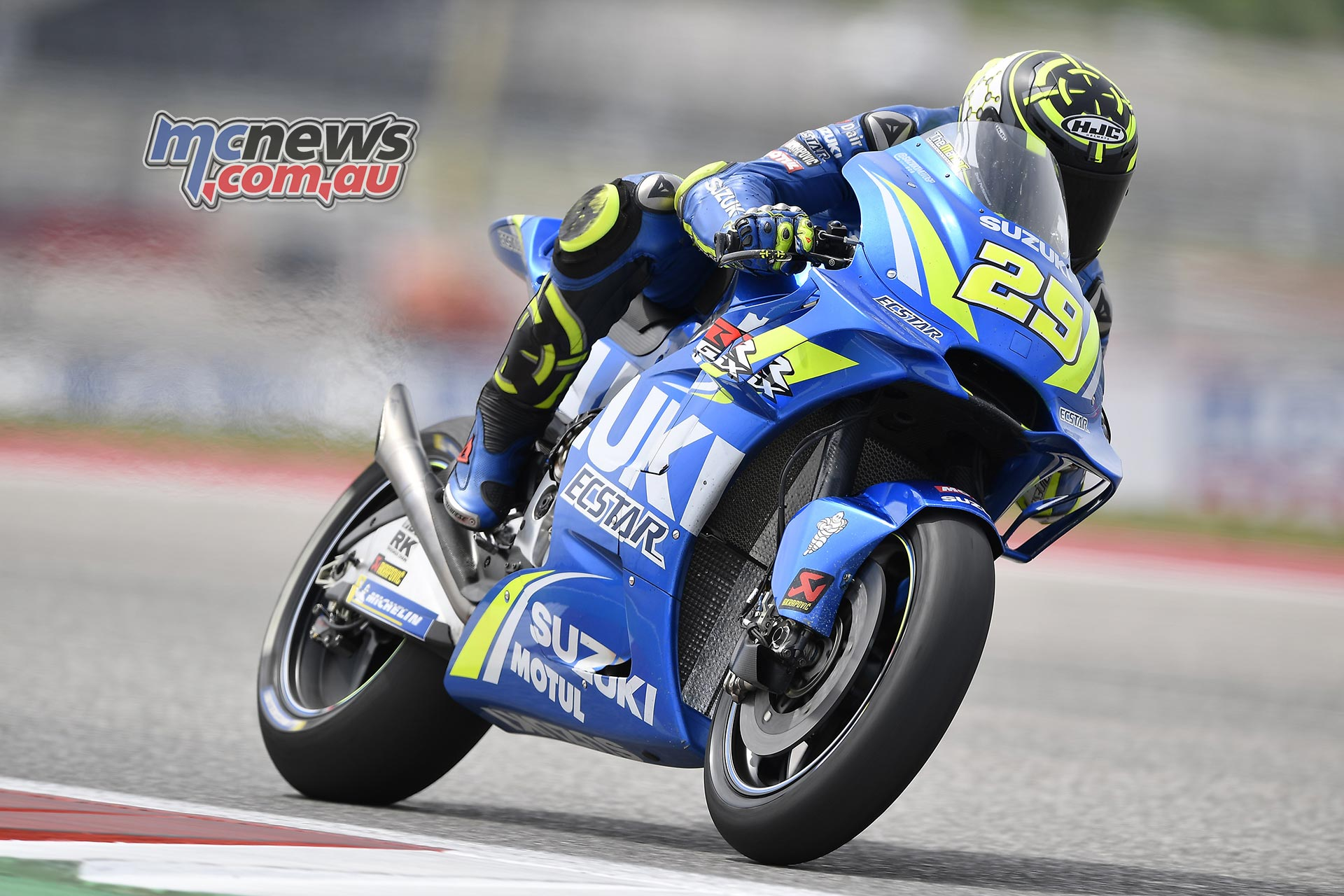 Iannone Topples Marquez To Top Friday At Cota Mcnews Com Au