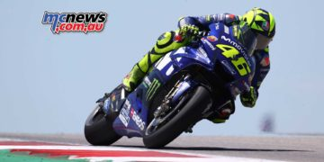 Rossi on his way to a respectable 4th - Image by AJRN