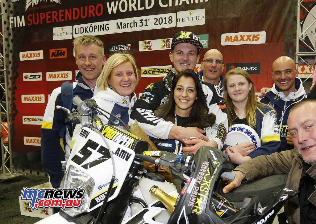 2018 FIM SuperEnduro World Championship - Round Five Winner- Billy Bolt