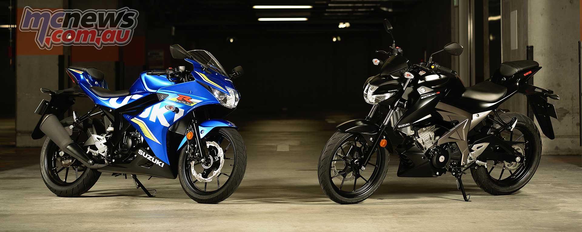 Suzuki GSX-S125 GSX-R125 Review | Motorcycle Test | MCNews com au