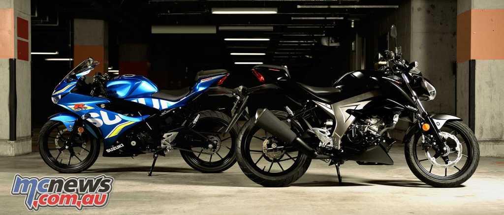 Suzuki GSX-R125 and GSX-S125