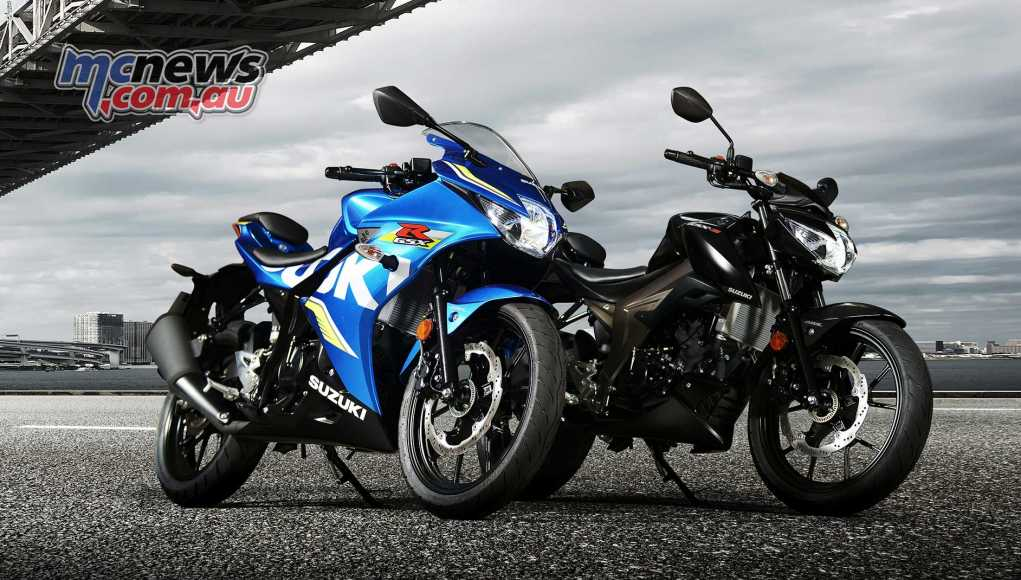 Suzuki's new 125cc siblings tested, the GSX-R125 and GSX-S125