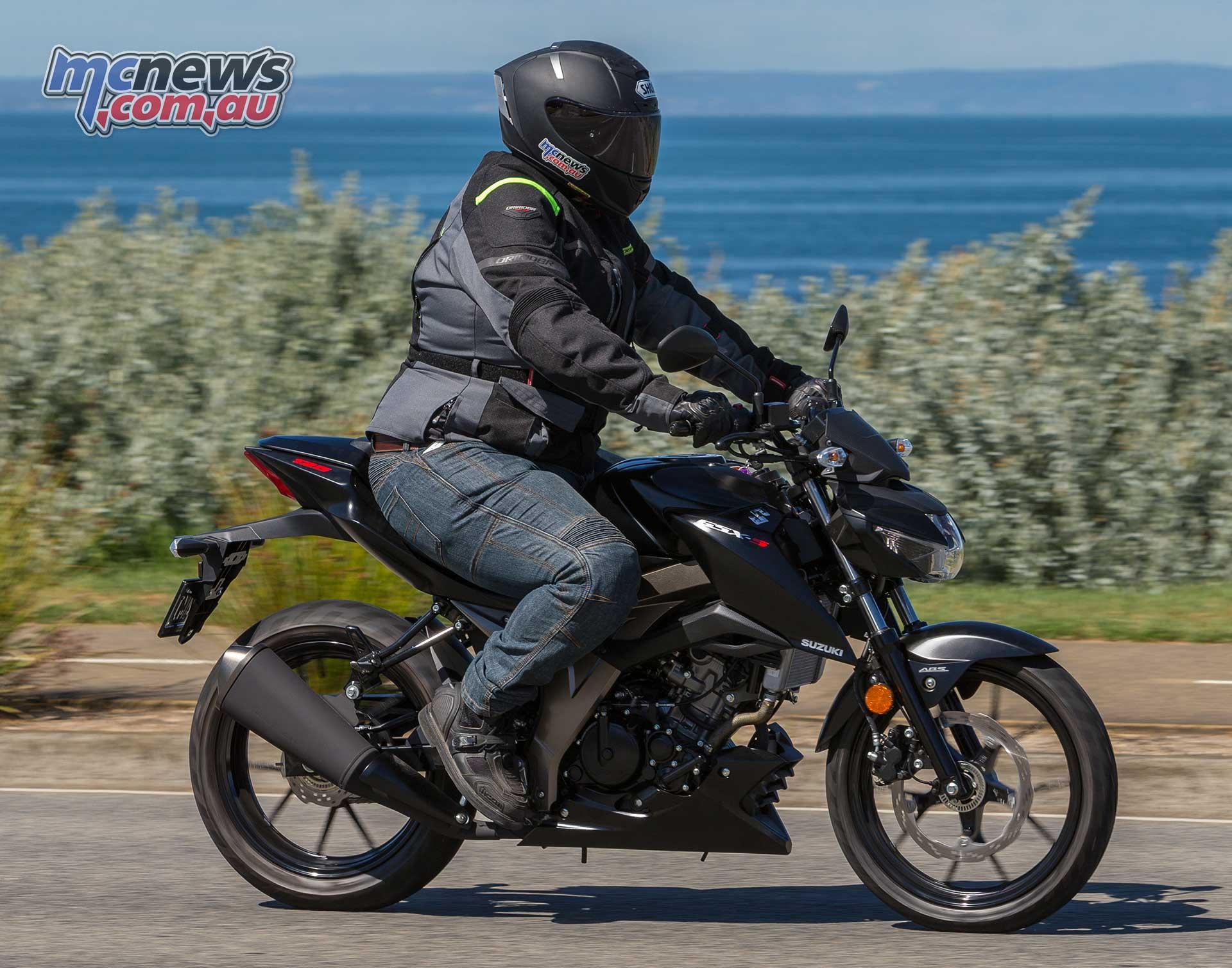 Suzuki Gsx S125 Gsx R125 Review Motorcycle Test Mcnews