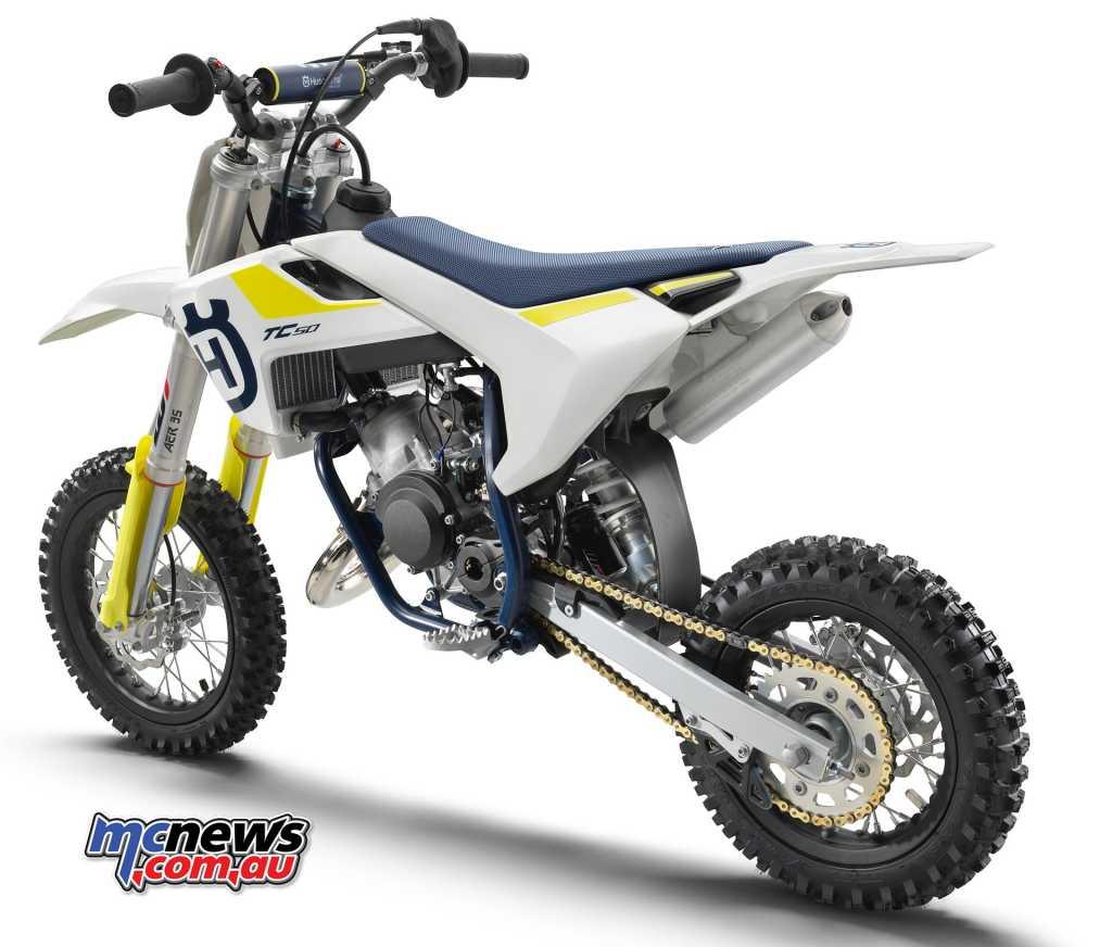 2019 Husqvarna TC50 Mini Motocross machine