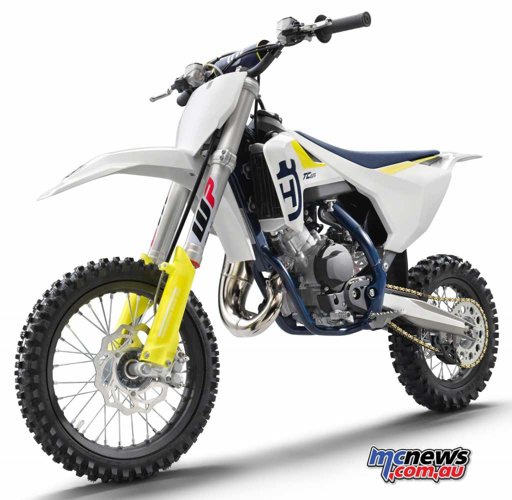 2019 Husqvarna TC65 Mini Motocross machine