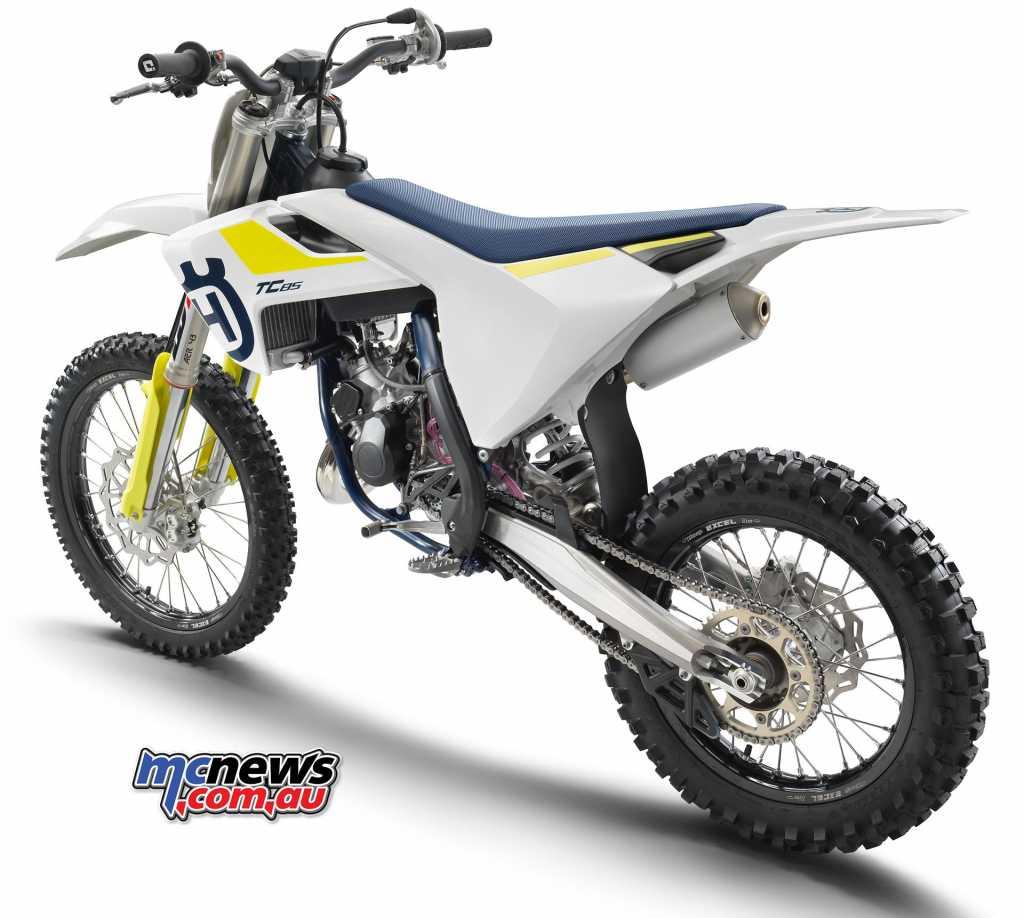 2019 Husqvarna TC85 Mini Motocross machine