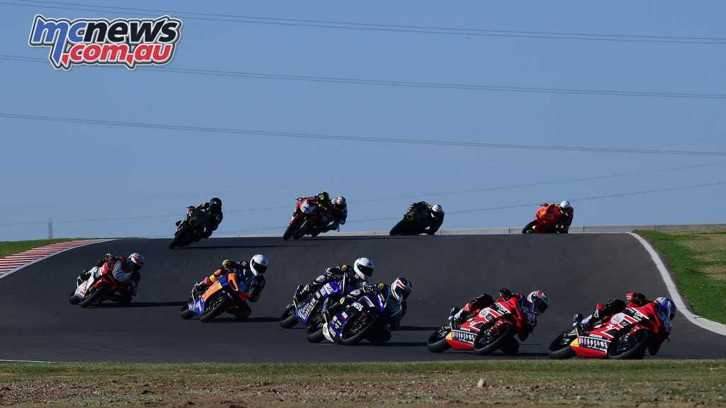 The 250 Production class saw an exciting Race 2