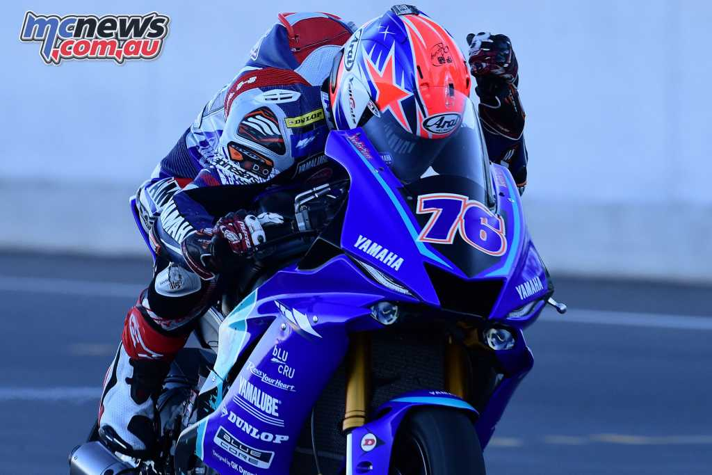 Yuki Ito claimed the Supersport Race 2 win