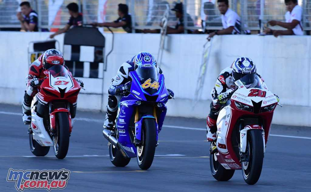 ARRC Supersport 600 - Azroy, Keminth and Izdihar