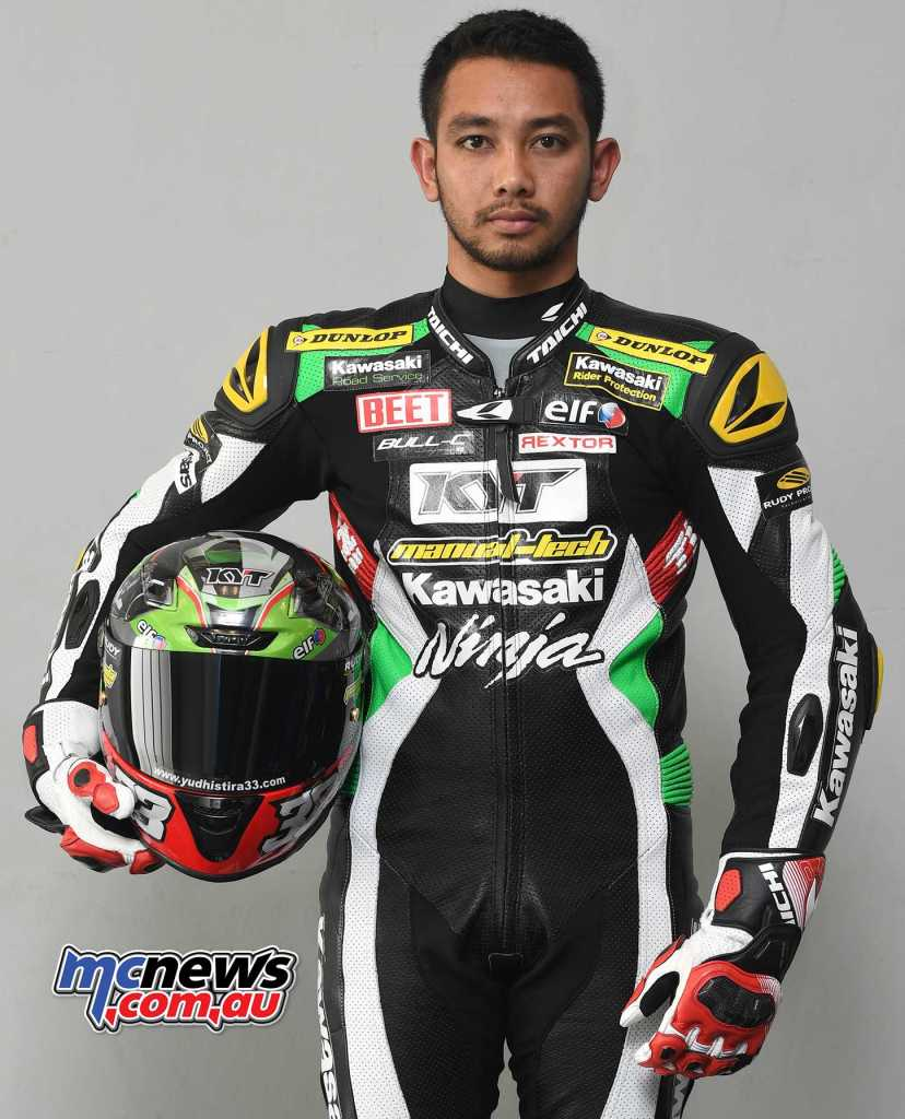 Ahmad Yudhistira is a previous ARRC Supersport Champion