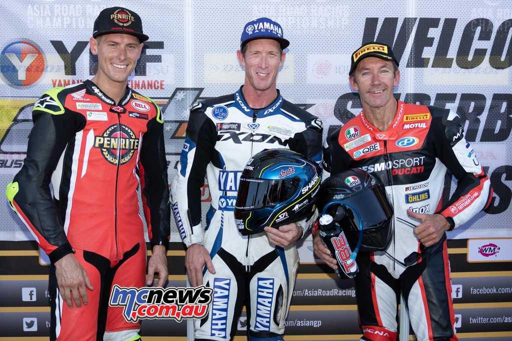 SBK Superbike Race One Results Wayne Maxwell - Yamaha Troy Bayliss - Ducati +1.103 Troy Herfoss - Honda +4.887