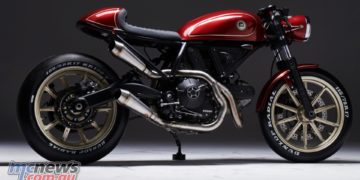 "Best Dealer: ""ESG Rumble 400"", entered by Ducati Poland"