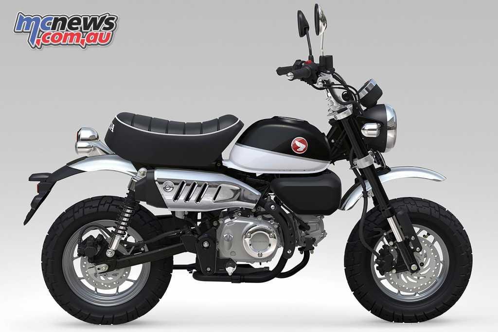 The new 2018 Honda Monkey in Ross White