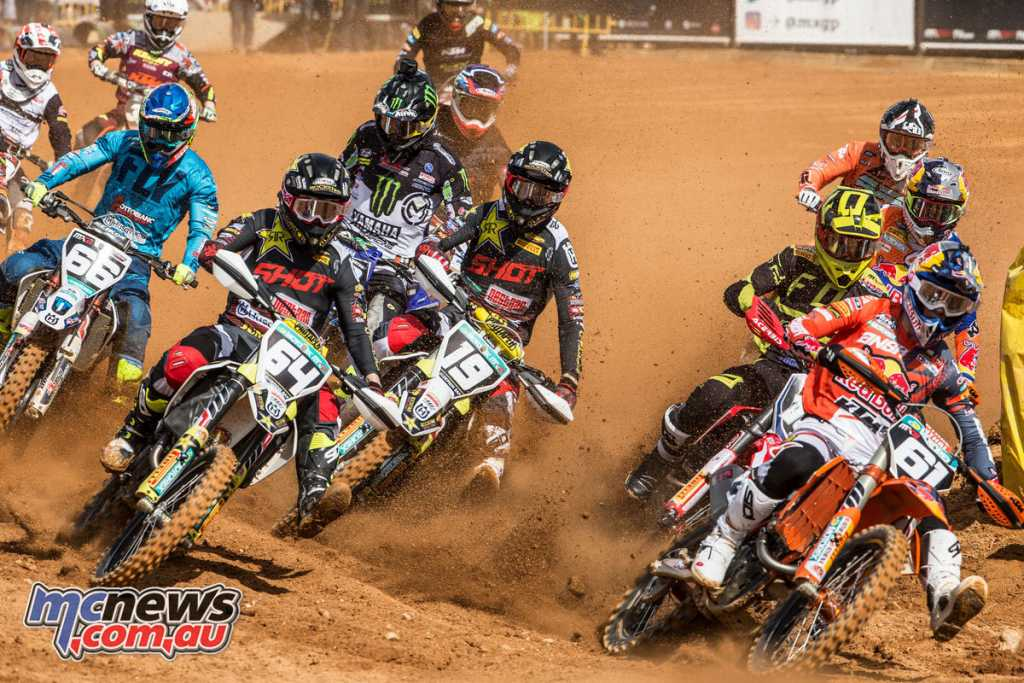MX2 Start at Agueda