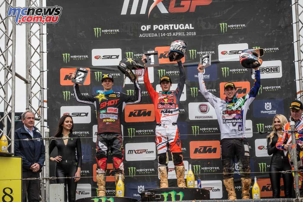 MXGP 2018 - Round 2 Agueda - MX2 Podium