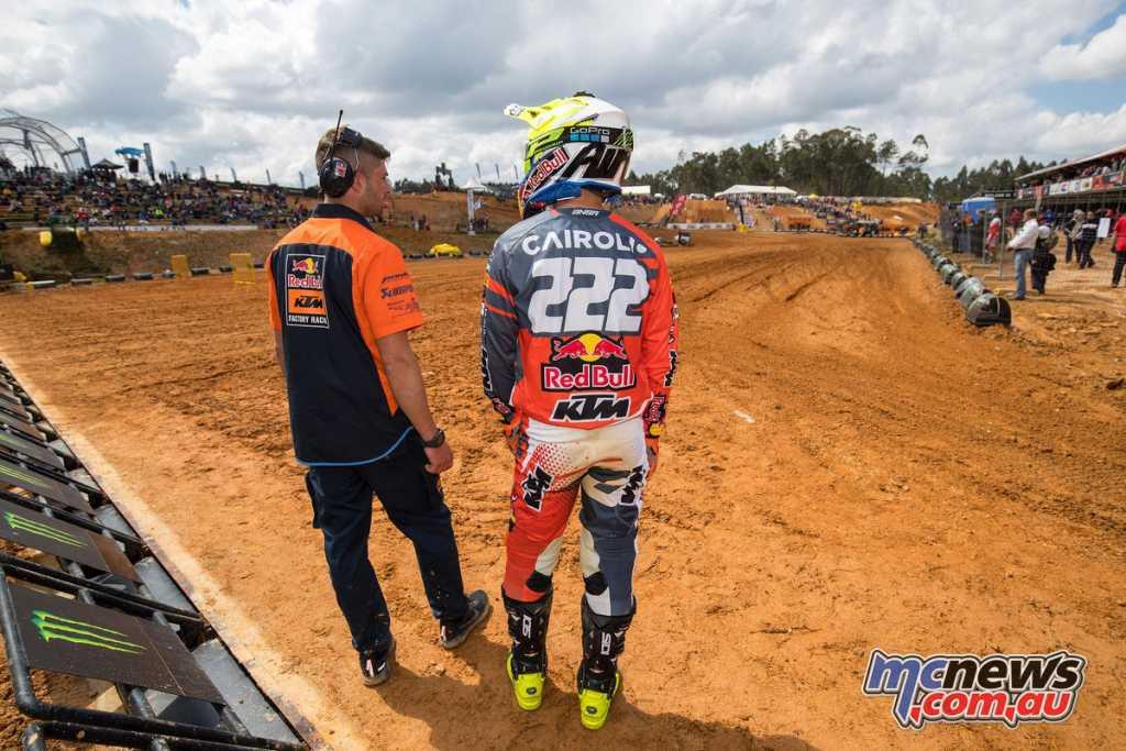 Tony Cairoli - Image by Ray Archer