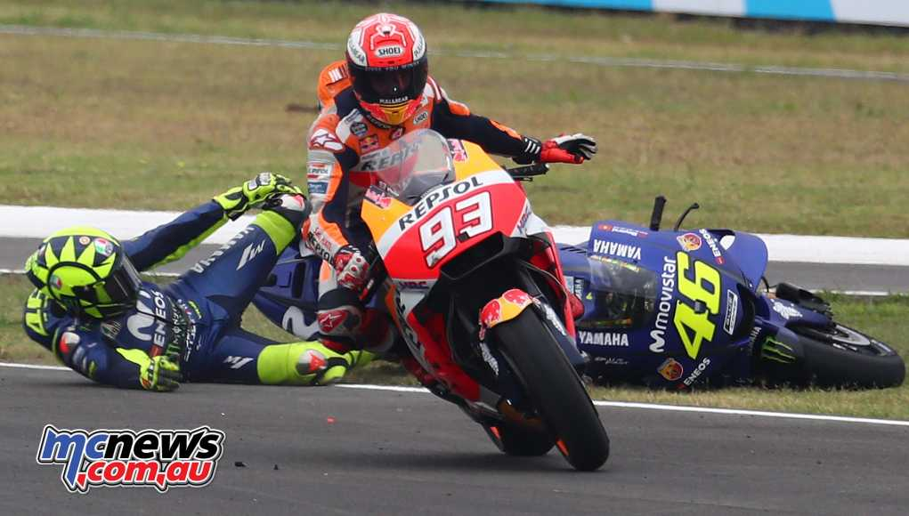 Marquez took out Rossi during #ArgentinaGP - Image by AJRN