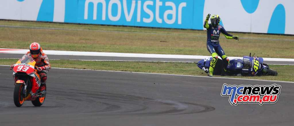 Marquez and Rossi spat explodes after Argentina clash - Image by AJRN