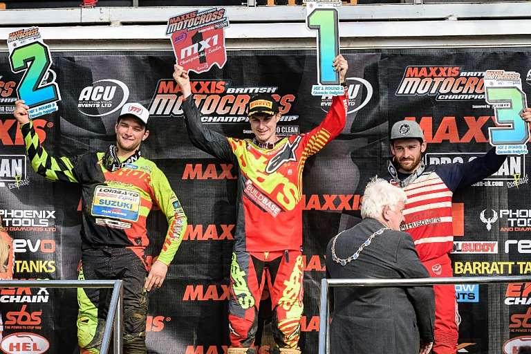 Jake Nicholls topped the podium